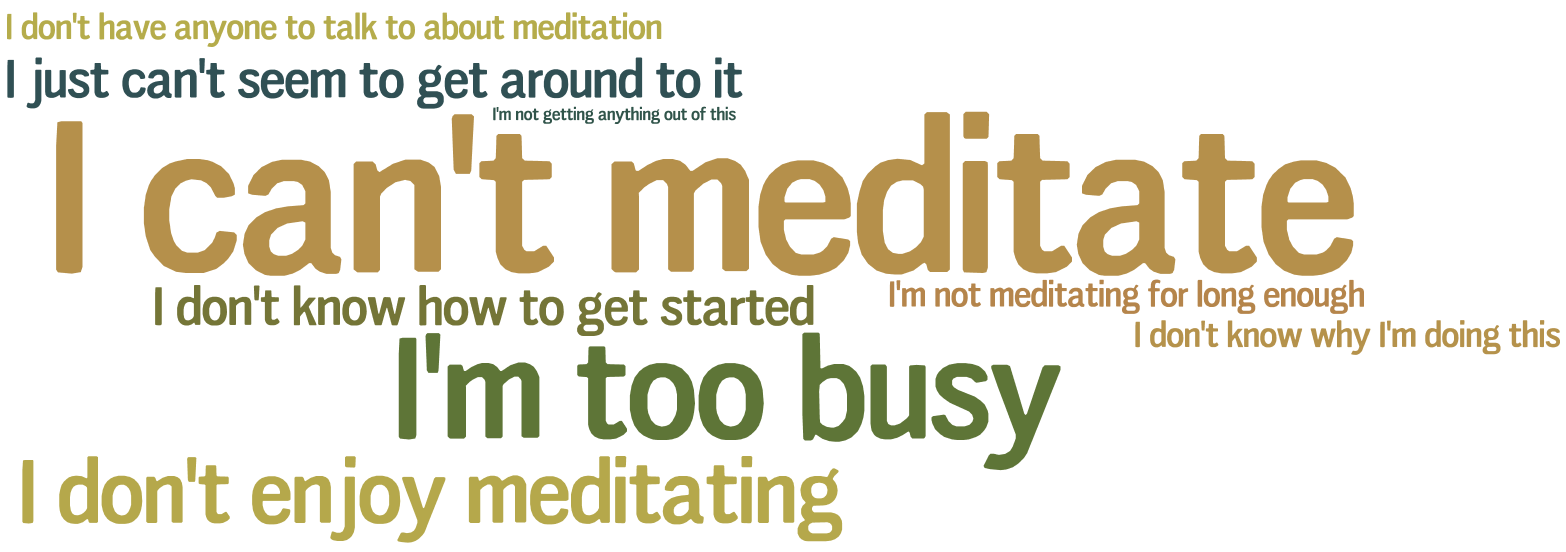 I Can't Meditate | Medivate